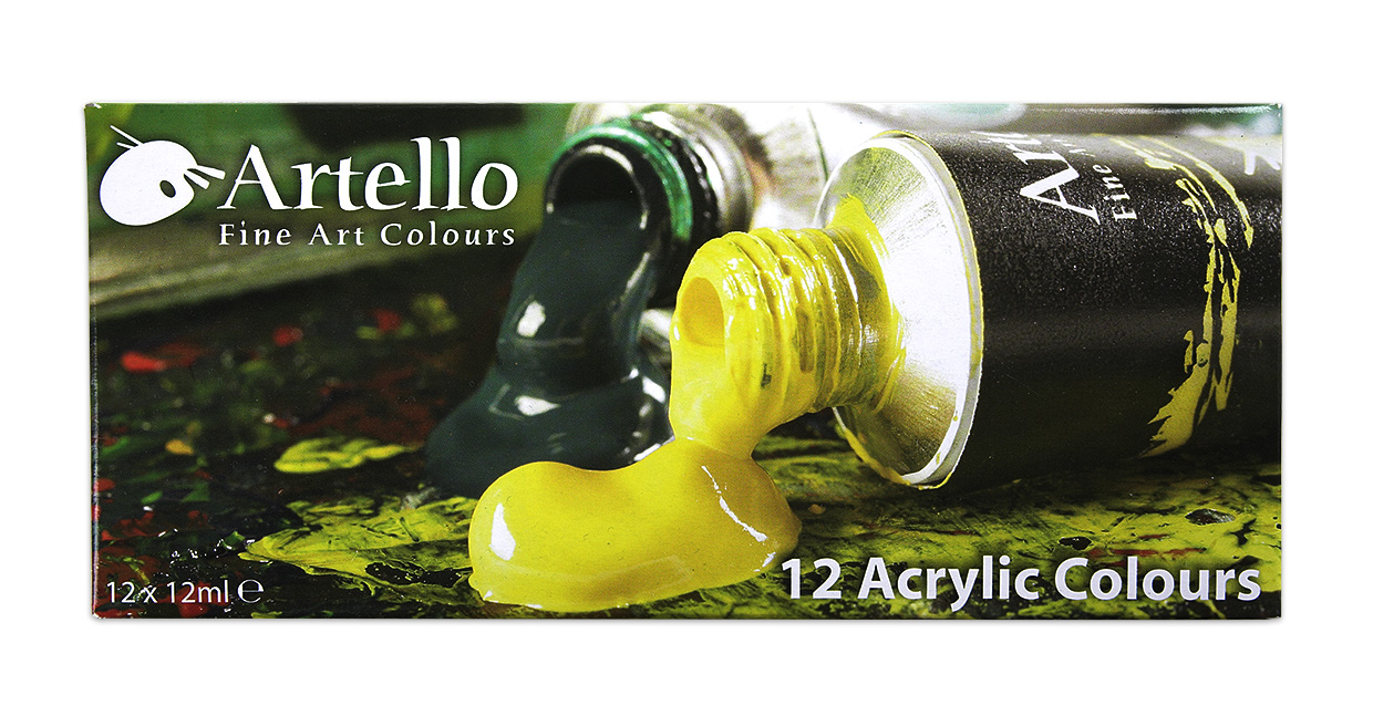 Emballage for Artello- acrylmaling-af-palle-christensen