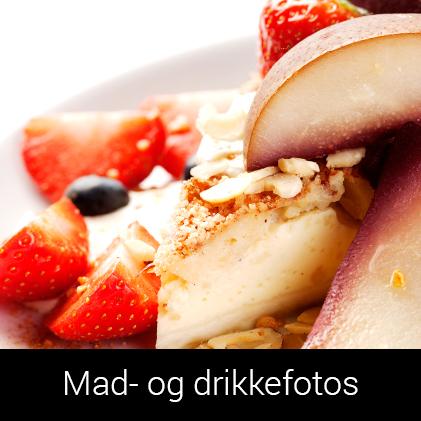Mad og drikkefotos af Palle Christensen