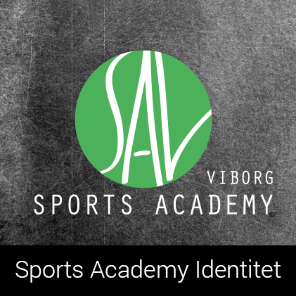 Indentitet for Sports Academy Viborg af palle christensen