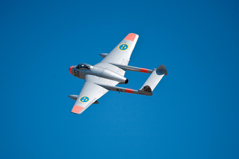 Svensk jetflyver i luften af Palle Christensen