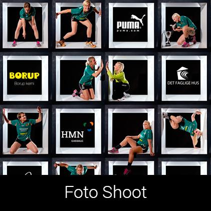 Foto Shoot for Viborg Håndbold Klub af Palle Christensen