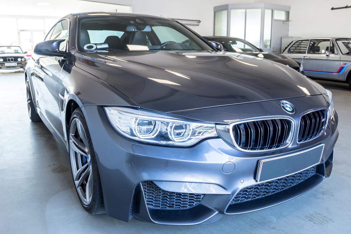 Bilfotografi af BMW M4